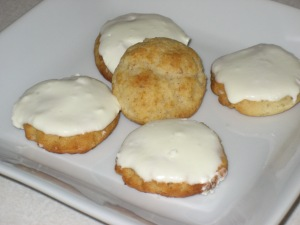 Lemon-lime coconut cookies